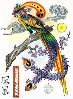 Feng Huang, Chinese Phoenix by *Badhead-Gadroon on deviantART  deviantart.com