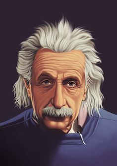 einstein by juanex on DeviantArt Caricatures, Top Anime Characters, Black Phone Wallpaper, 1080p Wallpaper, Caricature Drawing, Albert Einstein Quotes, Nature Drawing, Portraits, Science Art