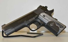 The new for 2014 Colt Wiley Clapp CCO 1911 pistol. 1911 Pistol, Colt 1911, John Browning, Gun Vault, M1911, Grenades, Revolvers, Cool Guns, Knives And Swords