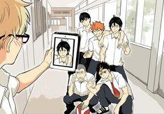 Tsukishima X Yamaguchi, Haikyuu Tsukishima, Haikyuu Funny, Haikyuu Fanart, Tsukiyama Haikyuu, Haikyuu Characters, Anime Characters, Anime Bl, Tsukkiyama