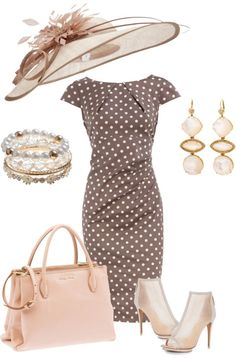 This would be my Kentucky Derby outfit   only in Coral-