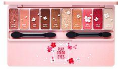Etude House Cherry Blossom Play Color Eyes 2017