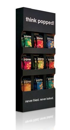 Chips display, one side new display stand, ECODISPLAYCN.COM  ALLEN@ECODISPLAYCN.COM