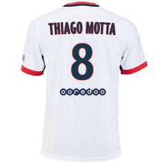Maillot de foot PSG Exterieur 2015/2016 (8 Thiago Motta)