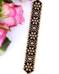 Peyote stitch pattern-Digital Download for this beautiful bracelet is available at SplendidBeads's Etsy Shop
