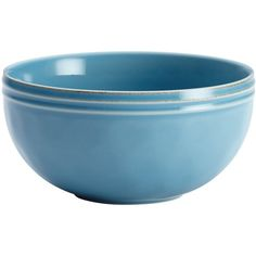 Rachael Ray Cucina 16pc Dinnerware Set Blue ($70) ❤ liked on Polyvore featuring home, kitchen & dining, dinnerware, blue stoneware dinnerware sets, stoneware dinnerware sets, oven safe dishes, rachael ray stoneware and blue dinnerware sets
