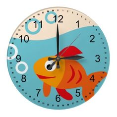 Cute Fish Clocks from Zazzle.com