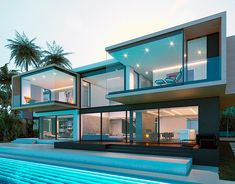 great names 38 Fabulous Latest House Designs Architecture Dream Home Design, Modern House Design, Modern Architecture House, Architecture Design, Architecture Interiors, Modern Houses, Miami Architecture, Fashion Architecture, Modern Mansion