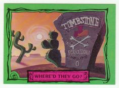 Beetlejuice Animated # 20 Where'd They Go? - Dart Cards 1990