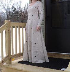 Medieval renaissance faire tunic chemise by HeritageDressmakers, $79.00