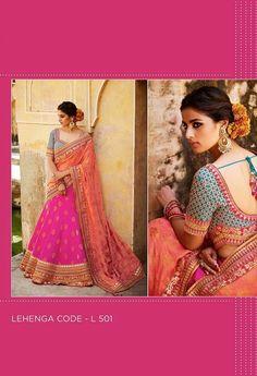 Embroidered Lehenga & Tussar Silk Blouse..@ fashionsbyindia.com #designs #indian #womens #style #cloths #stylish #casual #fashionsbyindia #punjabi #suits #wedding #chic #elegance #beauty #outfits #fantasy #embroidered #dress #PakistaniFashion #Fashion #Longsuit #FloralEmbroidery #Fashionista #Fashion2015 #IndianWear #WeddingWear #Bridesmaid #BridalWear #PartyWear #Occasion #OnlineShopping #salwar #kameez #lehenga Indian Dresses, Indian Outfits, Party Wear Lehenga, Georgette Fabric, Wedding Wear, Lehenga Choli, Saree Blouse, Indian Wear, Indian Fashion