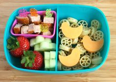Pasta lunch for bento Bento Box Lunch, Lunch Snacks, Healthy Snacks, Cold Lunches, Toddler Lunches, Toddler Food, Pasta Lunch, Pasta Salad, Kids Lunch For School