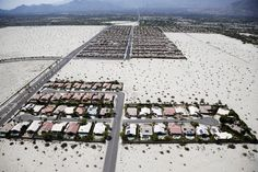 The Hoarding of the American Dream - Houses in Palm Springs, California