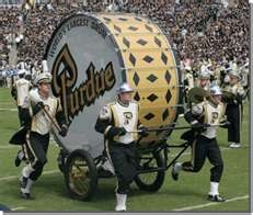 World's Largest Drum! Purdue University
