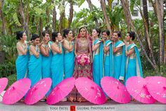 Great idea to position the parasols in front. Global Photography