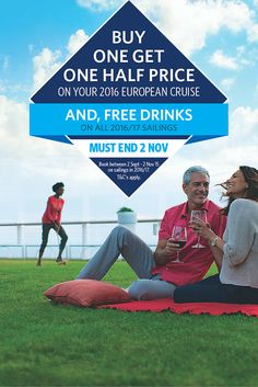 Be Quick - #CelebrityCruises Buy One Get One Half Price + Free Drinks* Ends 2nd November (T&Cs apply) #Cruises #Celebrity #Luxury