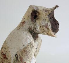Unique and Limited Edition Ceramic Animal Sculpture. - Nichola Theakston Ceramic Sculpture