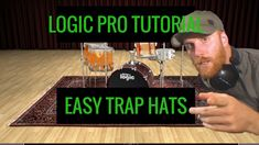 Trap Hats Logic X - How to Make Trap Hat Rhythm in Logic Pro X https://youtu.be/hYwQI2DazRM