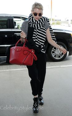 Posted on Apr 6, 2015 | 12:13 PM CDT - Emma Roberts update. Emma Roberts departing on a flight at LAX airport in Los Angeles, Cali...
