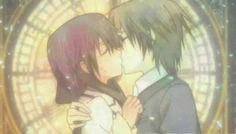 Special a Anime Kiss | kei and hikari from special a.after they go back like nothing happend isn't that great