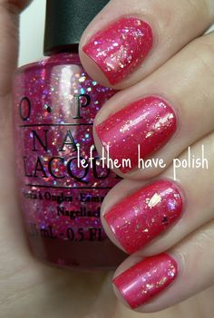 Let them have Polish!: Pink Wednesday!! O.P.I Nice Stems Swatches