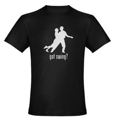 Swing Dancing Organic Men's Fitted T-Shirt (dark) I wanna find more swing-well any- dancing shirts :) Dance Shirts, Tee Shirts, Tees, Social Dance, Swing Dancing, Fade Designs, Smile Everyday, Dance Quotes, Casual Outfits