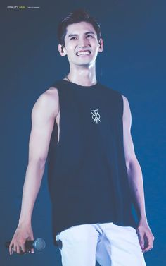 Tvxq Changmin, Kpop Boy, Bambi, Tank Man, Boys, People, Mens Tops, Image, Goodies