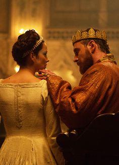 Marion Cotillard & Michael Fassbender in 'Macbeth' (2015).