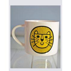 Jane Foster Happy Lion Mug