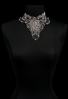 Ambre collar, www.annefontaine.com #annefontaine #collar #fashion