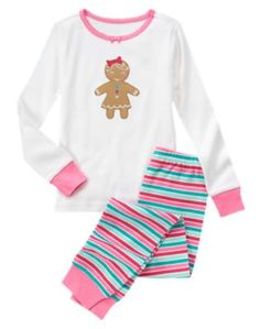 Gingerbread Girl 2-Piece Gymmies®