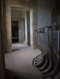 The Crumbling Remains of Tuscany's Creepy Abandoned Mental Asylum