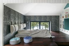 20 najpiękniejszych sypialni 2019 roku - Galeria - Dobrzemieszkaj.pl Outdoor Furniture, Outdoor Decor, Studio, Bed, Home Decor, Decoration Home, Stream Bed, Room Decor, Studios