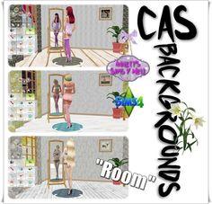 """Annett's Sims 4 Welt: CAS Backgrounds """"Room"""""""