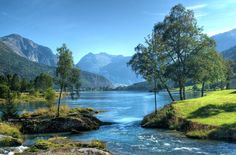 On a regular day Stryn is beautiful – at the best it is magic! The Stryn &… The Places Youll Go, Places To Go, Snow In Summer, Snow Activities, Beautiful Norway, Natural Playground, Where To Go, Places To Travel, Beautiful Places