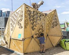 The Skip Garden: a moveable urban veggie patch built with 90% reclaimed materials | Inhabitat - Sustainable Design Innovation, Eco Architecture, Green Building