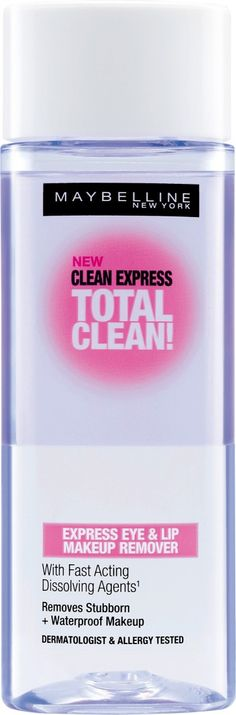 Maybelline Clean Express Total Clean Makeup Remover Review