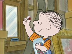 Rerun Van Pelt goes up to his family's attic and finds an old jar of marbles. Upon further inspection, he learns the marbles belonged to his grandfather, Felix Van Pelt, who was a marbles champion - He's A Bully, Charlie Brown