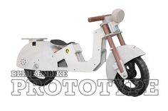 BLINKENBIKE Model Swan with Scooter Accessories Balance Bike, Source Of Inspiration, High Level, Concept, Learning, F1, Danish, Building, Swan