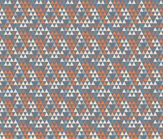 little_triangles fabric by j9design on Spoonflower - custom fabric