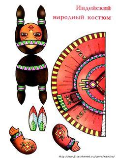 paper craft native American