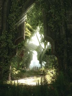 Dragon Age: Inquisition - Downsampled from MP, hotsampling! Dark Green Aesthetic, Nature Aesthetic, Aesthetic Fashion, Fantasy Magic, Fantasy World, Wallpaper Harry Potter, Slytherin Aesthetic, Dragon Age, Aesthetic Pictures