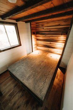 Main Floor Master Bedroom - Noah by Wind River Tiny Homes