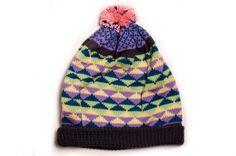 marjorie knit bobble hat