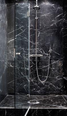 The Aestate: Project: Guest Bathroom (Nero Marquino)