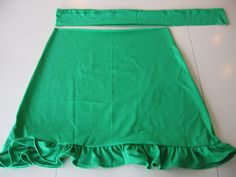 T-shirt Skirt Tutorial