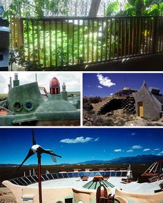 The Earthship Era:  Eco-Friendly luxury living earthship samples