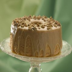Maple Walnut Chiffon Cake - Great American
