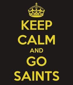 saints.. woohooooo cant wait(;