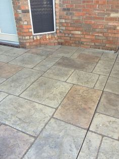 Stamped Concrete, Tile Floor, Flooring, Tile Flooring, Hardwood Floor, Paving Stones, Floor, Floors